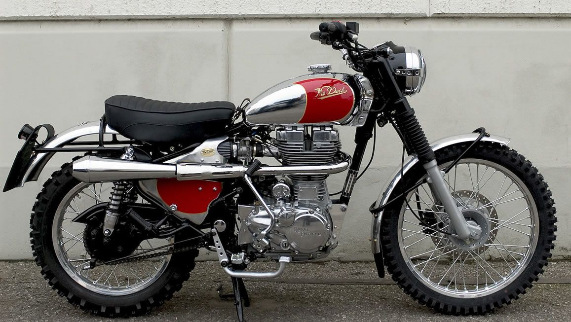 "Royal Enfield ""Six Days"" by Mb DEEB"