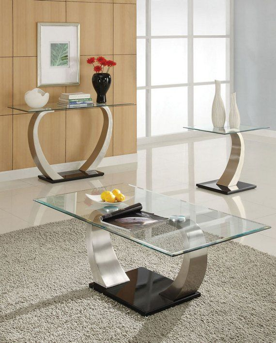 Glass Topped Coffee Tables That Will Embellish And Complement Your Home Glass Coffee Tables Living Room Glass Table Living Room Coffee Table Living Room Modern Living room table for sale