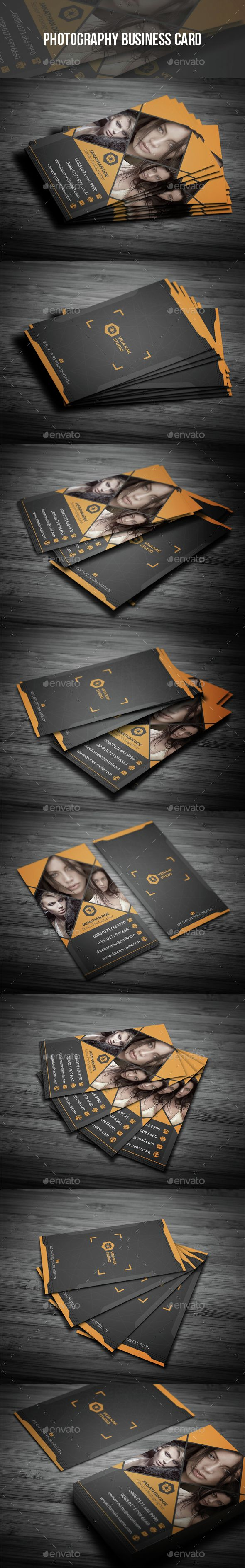 Photography Business Card | Photography business cards, Business ...