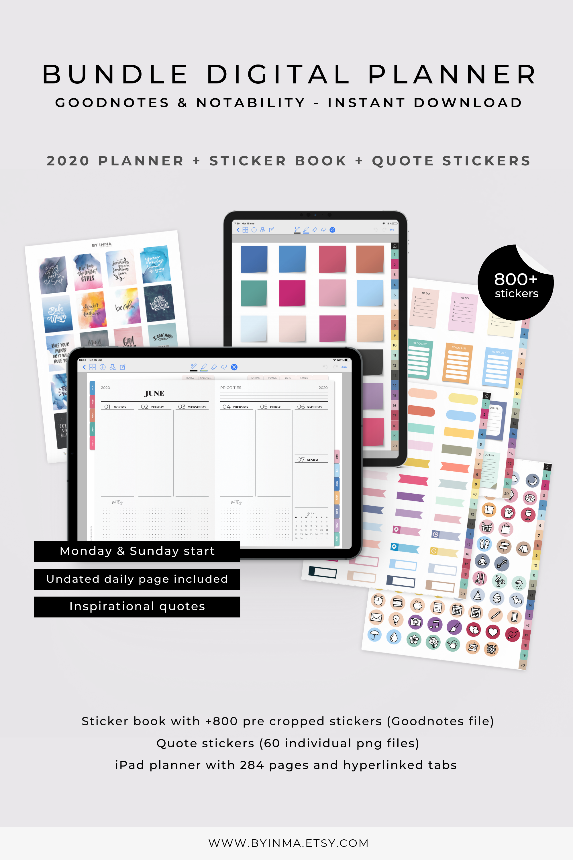 Digital Planner 2021 Goodnotes Digital Stickers Book Pre Cropped Png Quote Stickers Png Notability Planner Ipad Hyperlinks Tabs Planner Sticker Book Digital Planner Sticker Book