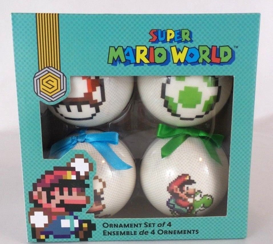 Super Mario World Christmas.Collectibles Other Current Tree Ornaments Super Mario World