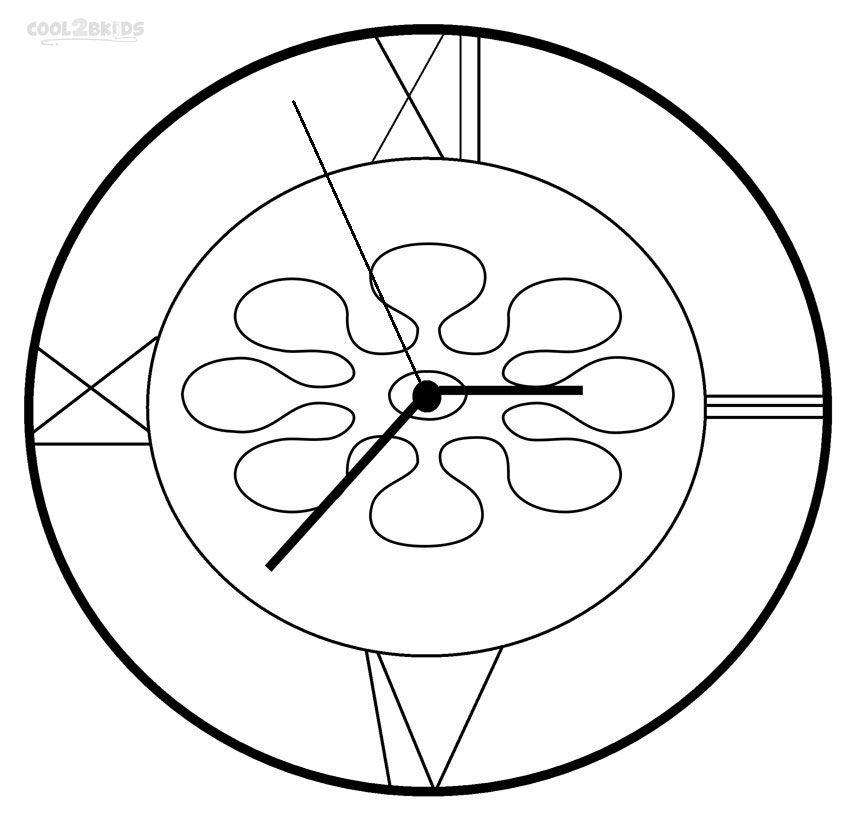 21+ Cuckoo clock coloring page ideas