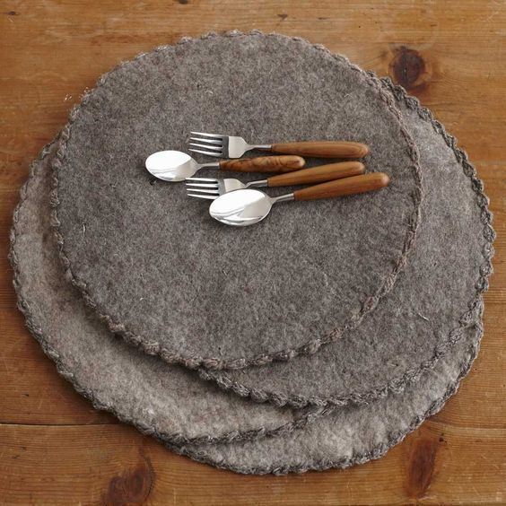 Image Result For Frlted Knit Placemats Pattern Knitting