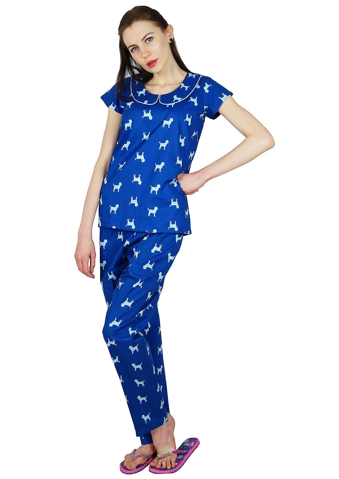 9974e4b1c6 Bimba Womens Traditional Pj Pyjama Set Cotton Lady Classic Intimates Night  Wear