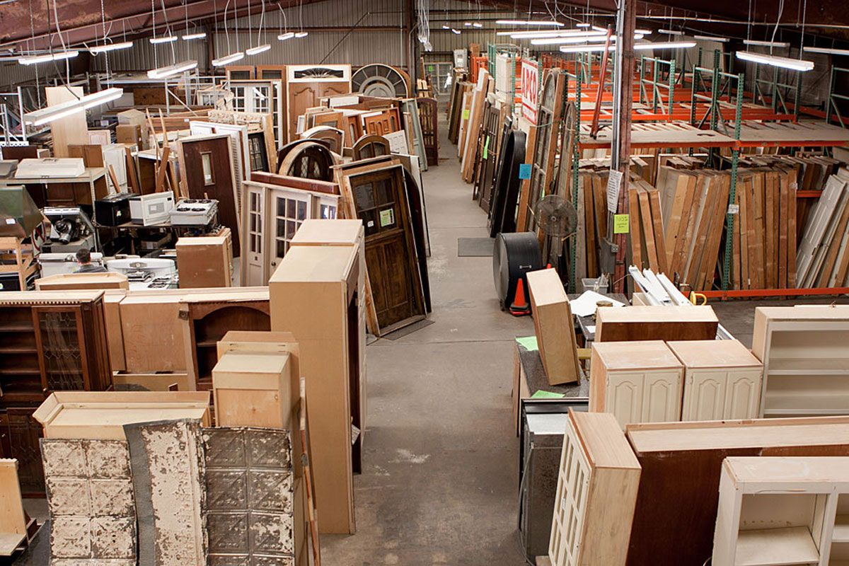 Dallas Salvage For Homes Architectural Materials Rehab And Recycle Home Warehouse Austin House