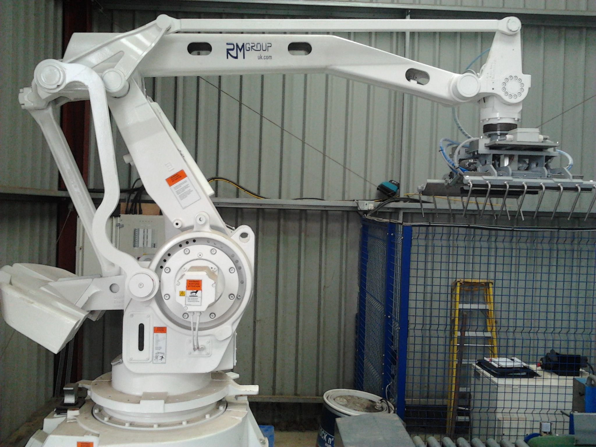 Abb Palletising Robot From Rmgroup