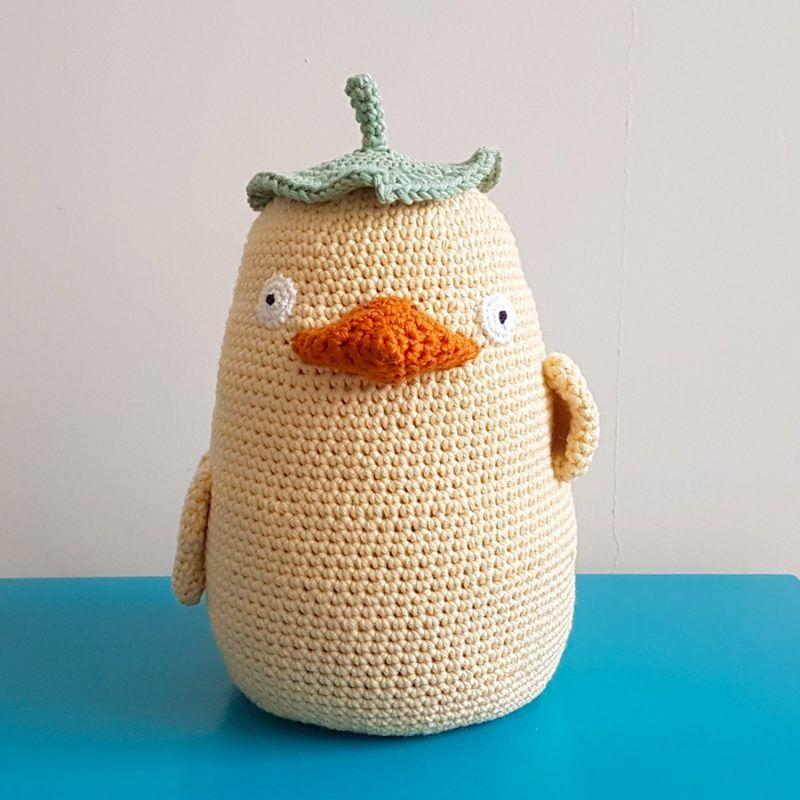 Studio Ghibli Ootori Sama Door Stopper Free Crochet Pattern One Zero Crochet Crochet Patterns Crochet Parrot Free Crochet Pattern