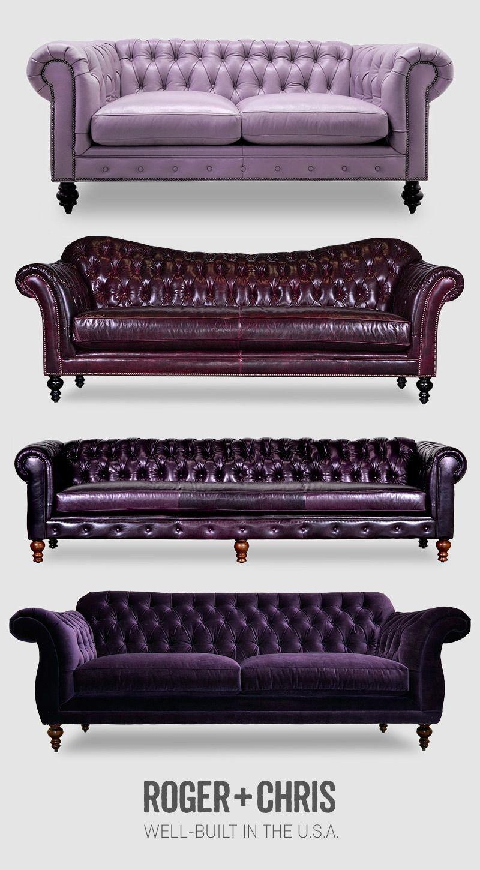 Purple Leather Sofas Purple Leather Chesterfield Purple Couches Purple Velvet Tufted Sofa Purple Leather Sofas Velvet Tufted Sofa Purple Couch