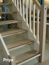 Best Stairs Wooden Tread Clear Perspex Riser Google Search 400 x 300