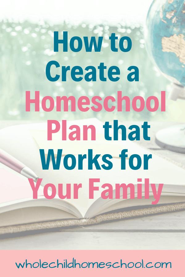 Homeschool Curriculum Planning: Create the Best Plan for ...
