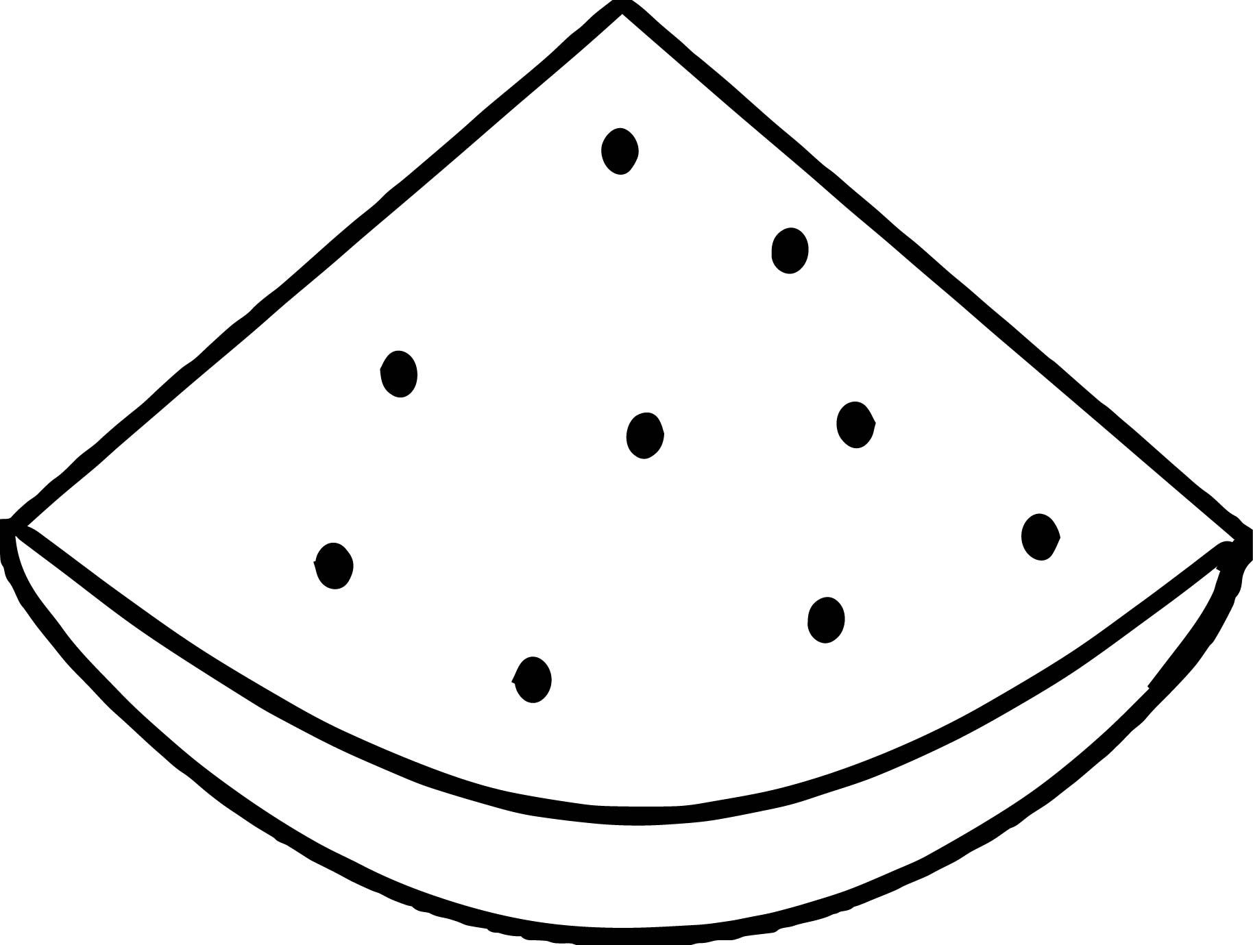 Awesome Watermelon Summer Quarter Coloring Page Coloring Pages Summer Watermelon Love Coloring Pages