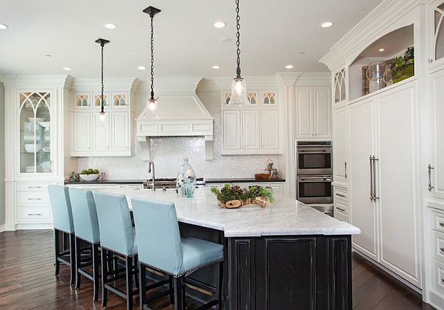 Huge Triangle Kitchen Island By Loracia KitchenIdeasCurrent Pinterest  Kitchens House And Dining. Angled Kitchen Island Designs.