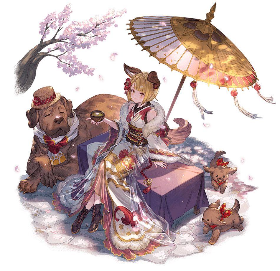 ritual robes vajra character artwork from granblue fantasy art illustration artwork gaming videogames game fantasy art illustrations vajra artbook design