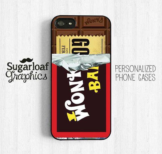 WONKA CHOCOLATE BAR iphone case