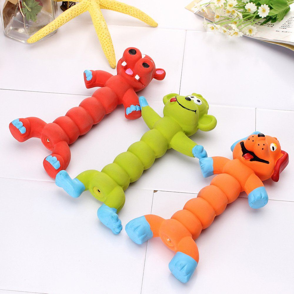 Elite Rubber Dog Squeaky Toys For Small Dogs Funny Sound Puppy