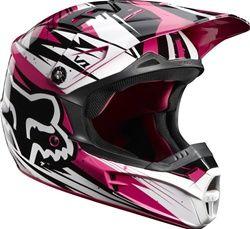 Fox Racing Womens V1 Undertow Helmet Dengan Gambar