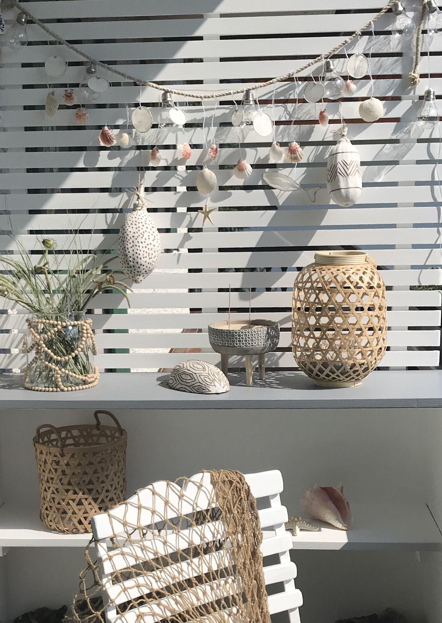 DIY: Mobiles Pflanzregal mit Sichtschutz für Balkon oder Garten selber bauen. Heimwerken. Selbst