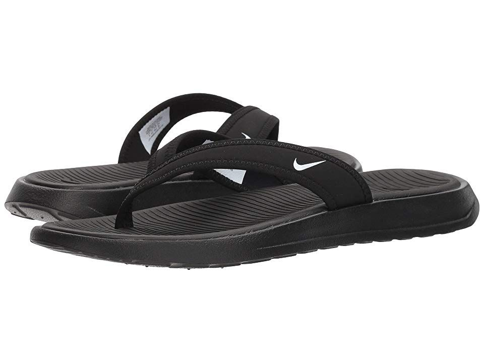 77d77a2744d7d Nike Ultra Celso Thong (Black White) Women s Shoes. Nike slips into ...