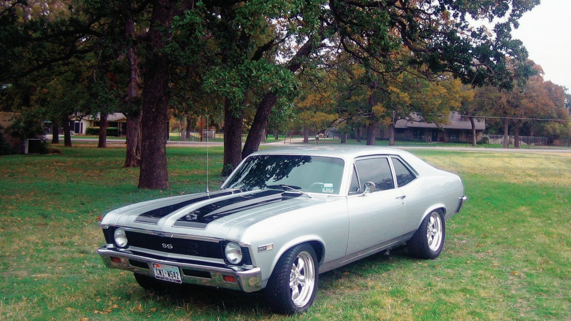 1968 Chevrolet Nova Ss Dad Had One Of These Except It Was Straight Chevy Green