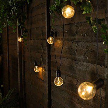 Guirlande Lumineuse Festive Guinguette 10 Ampoules Opaques à