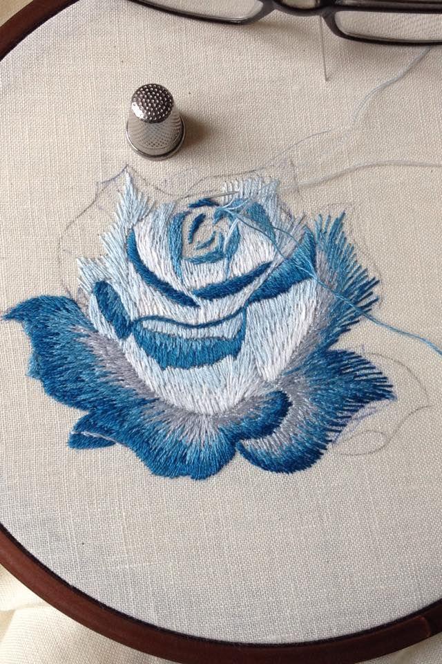 Pin de maria guadalupe en bordado   Pinterest   Bordado, Bordados ...