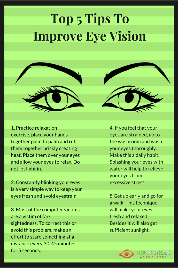 How to increase the eyes