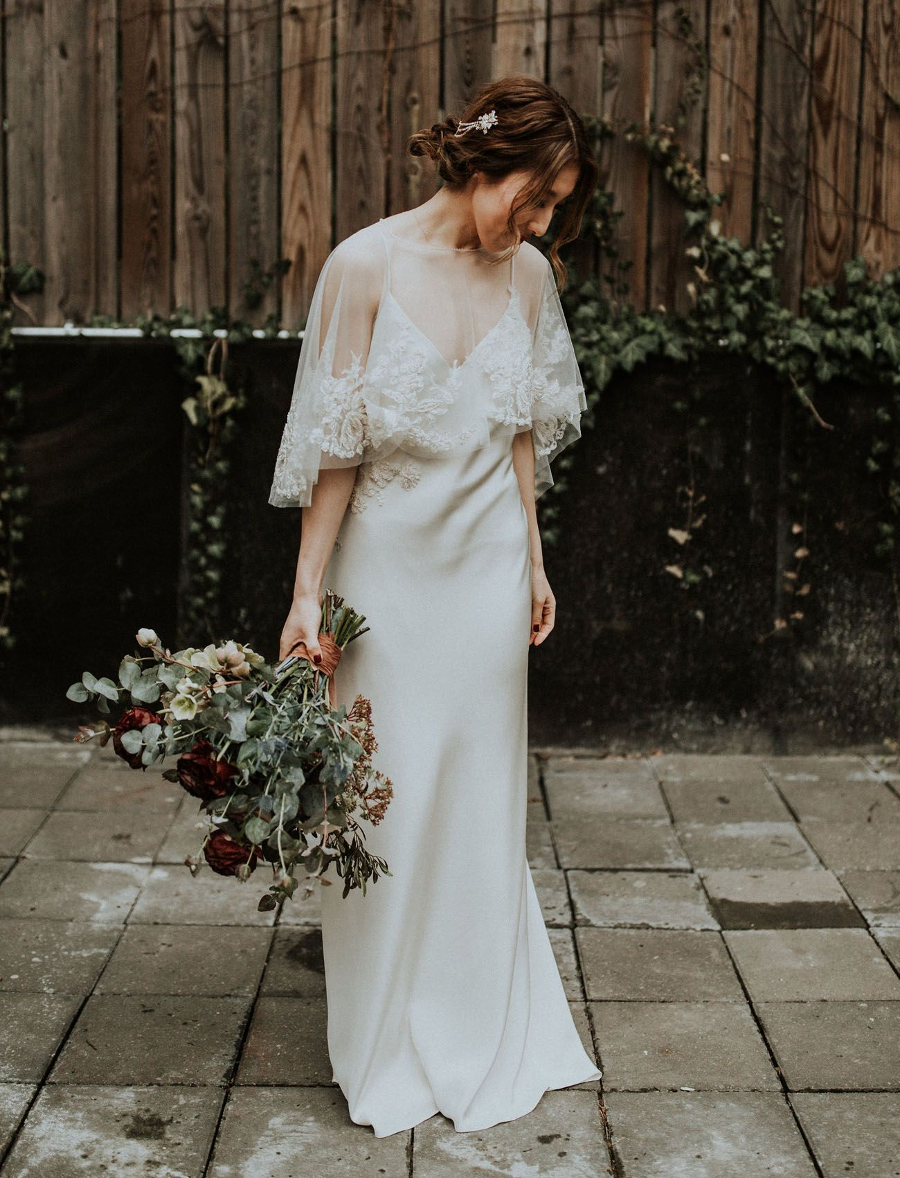 Catelyn Lace Capelet From Bhldn Wrap Wedding Dress Lace Jacket Wedding Bride Reception Dresses [ 3000 x 2000 Pixel ]