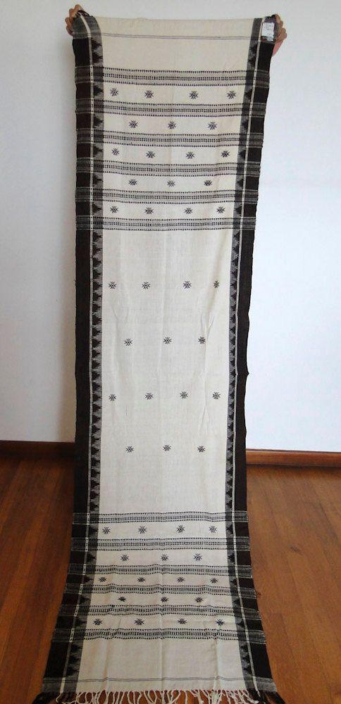 VINTAGE Koraput Tribal Shawl Orissa India by WOVENSOULS on Etsy, $220.00