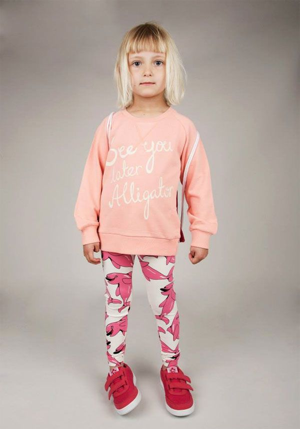 Mini Rodini: See you Later Alligator Spring Summer 2015 Collection is coming out with adorable prints such as mermaid, dolphins and more for kids & babies!