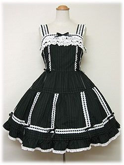 angelic pretty 縦ピンタックジャンパースカート2006