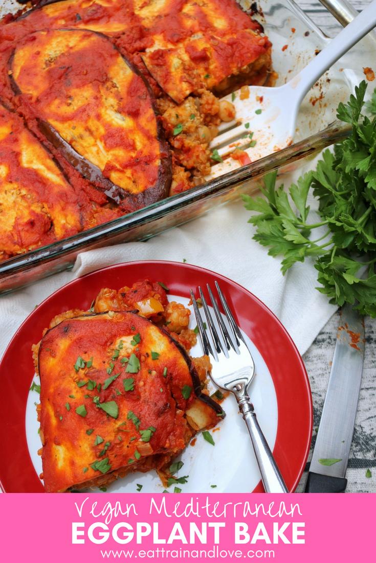 """Mediterranean Eggplant Bake, a vegan """"lasagna"""" images"""