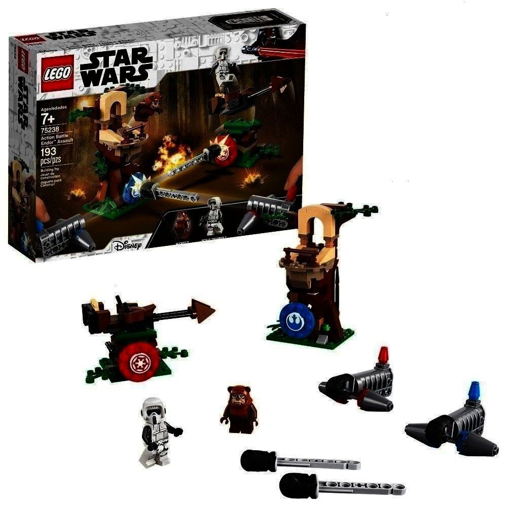 Battle Endor Assault 75238 LEGO Star Wars Action Battle Endor Assault 75238LEGO Star Wars Action Battle Endor Assault 75238 Sure you could be a padawan and make a cupcake...