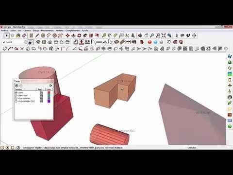 Como Calcular Volumen De Una Manera Facil En Sketchup Volumenes Geometría Ing Civil