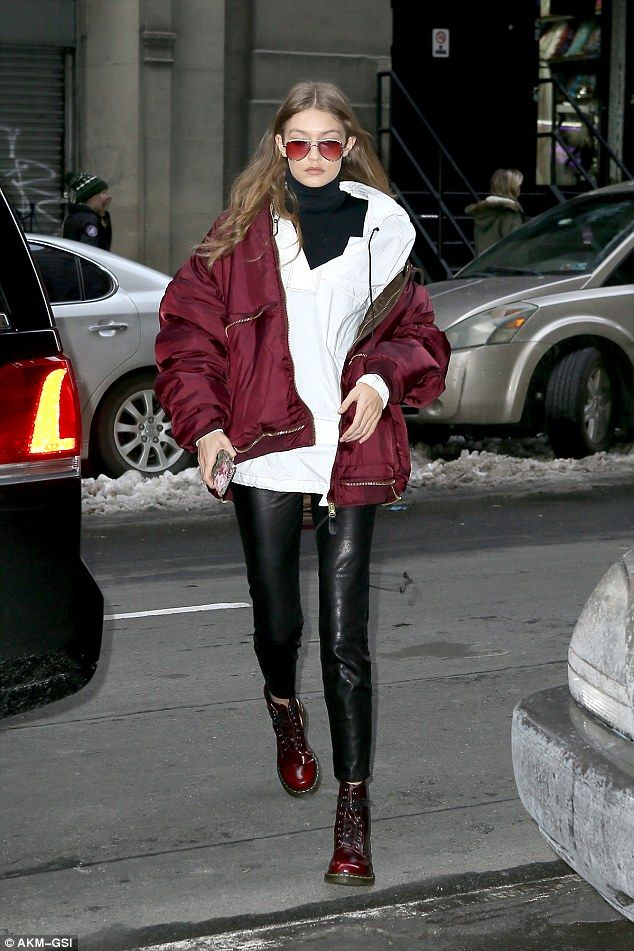 Doing her own thing:Gigi Hadid got some time off from New York Fashion Week duties on Saturday afternoon
