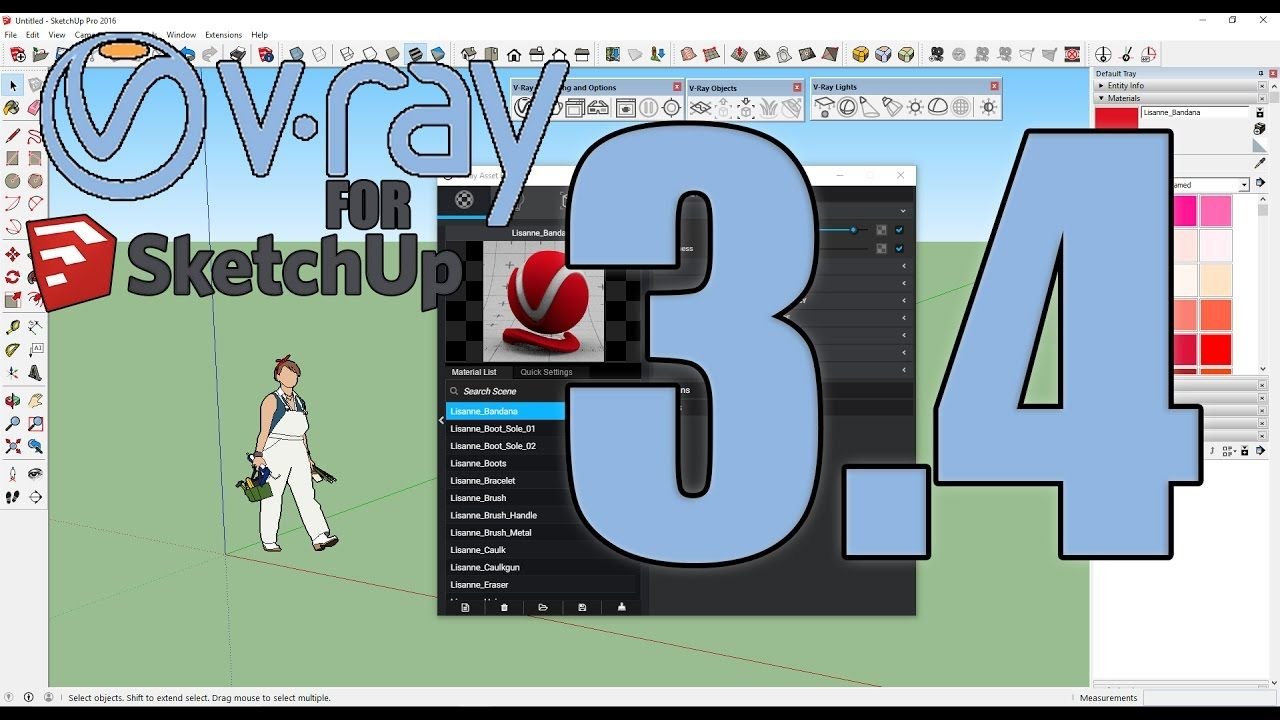 Vray 3 4 For Sketchup Crack Mac 2017 Full Version Free