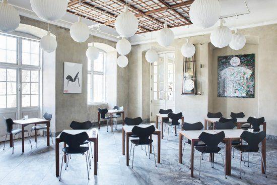 Designmuseum Danmark Cafe Place Room Table Decor