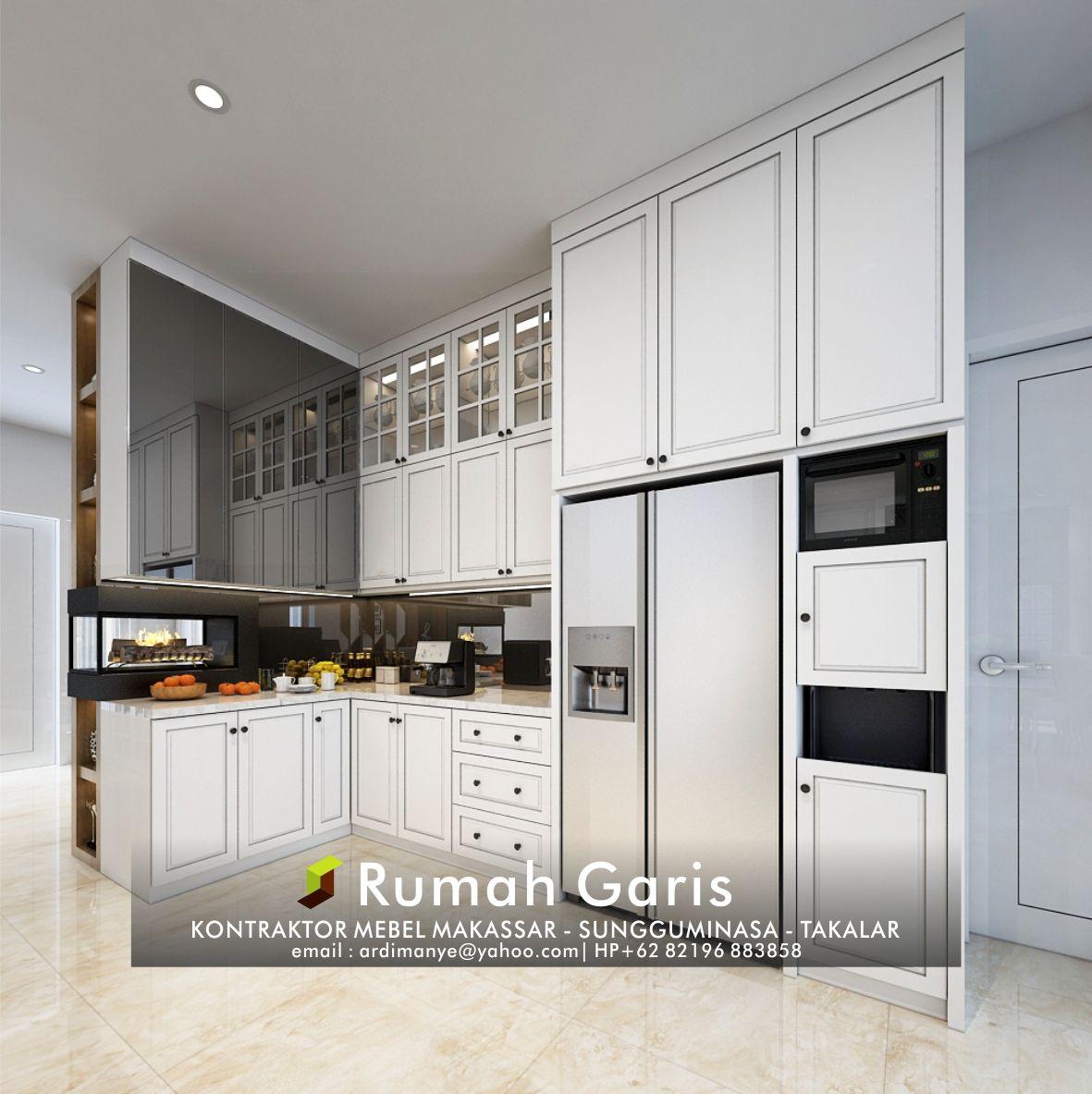 Kitchen set dapur hpl modern