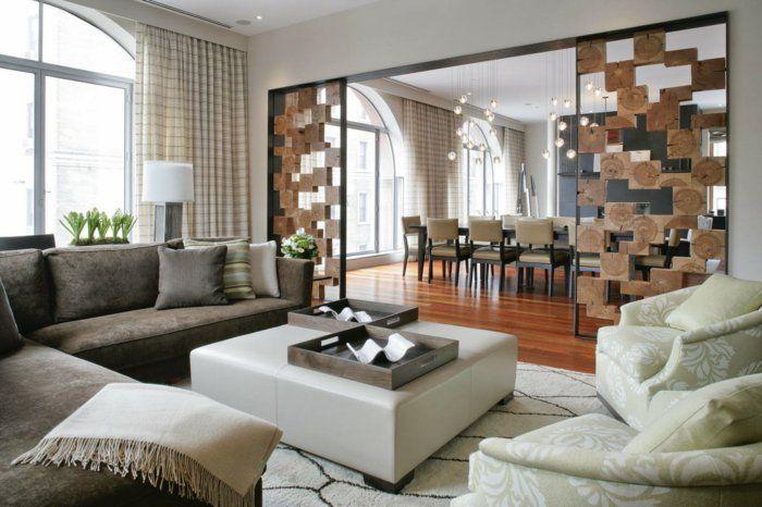62 gelungene beispiele die f r einen raumtrenner sprechen vorhang raumteiler pinterest. Black Bedroom Furniture Sets. Home Design Ideas