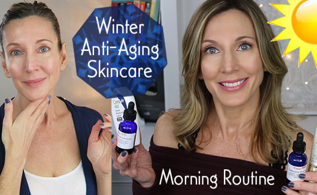 Hot And Flashy Blog And Youtube Channel Skincare Routine Winter 2017 Thumb Anti Aging Skincare Routine Skin Care Wrinkles Anti Aging Skin Products