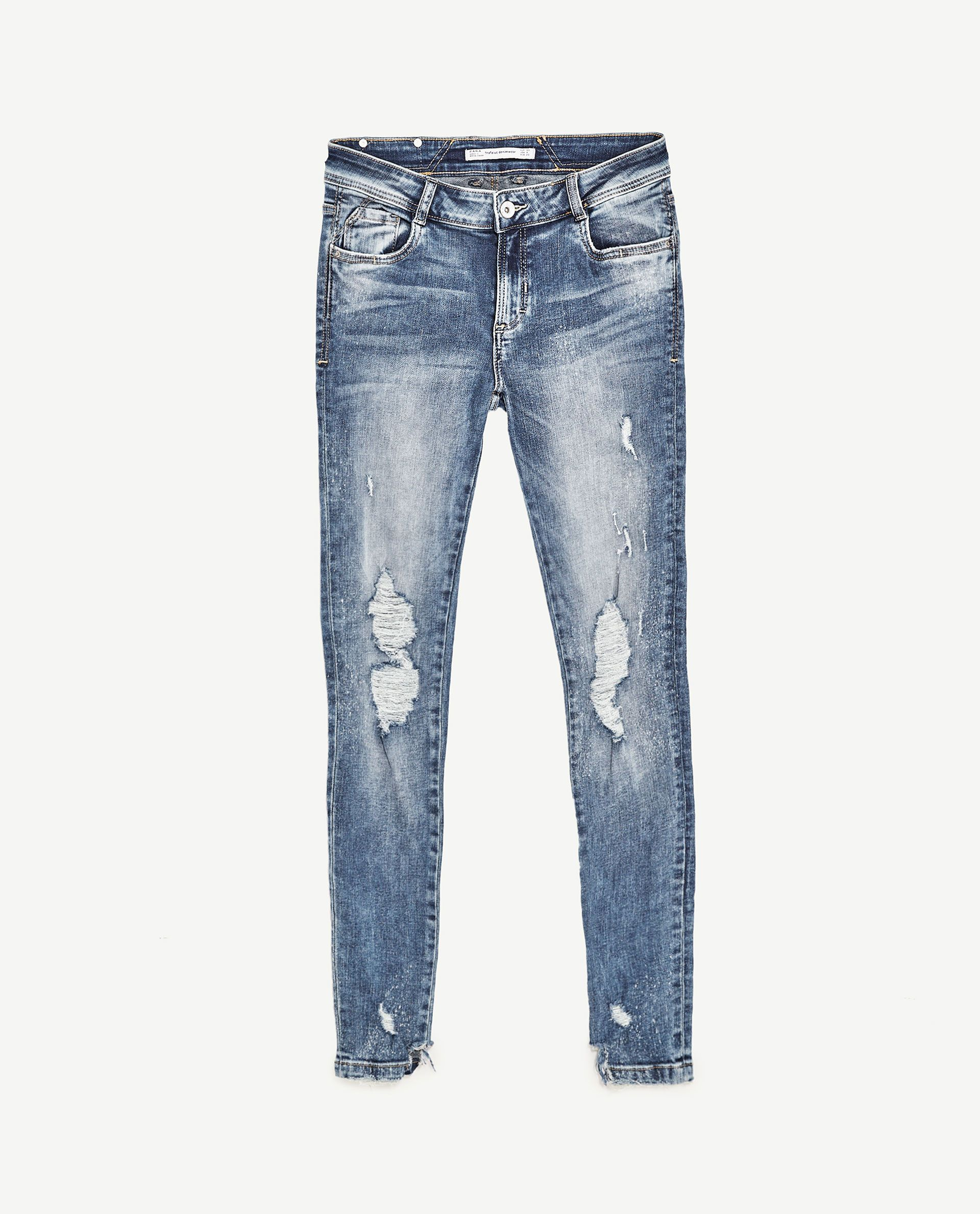 e60bef0445631 Image 8 of POWER STRETCH JEANS from Zara
