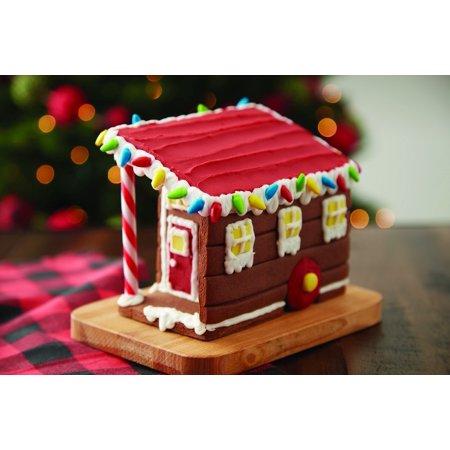 Food Decor Gingerbread Tiny House