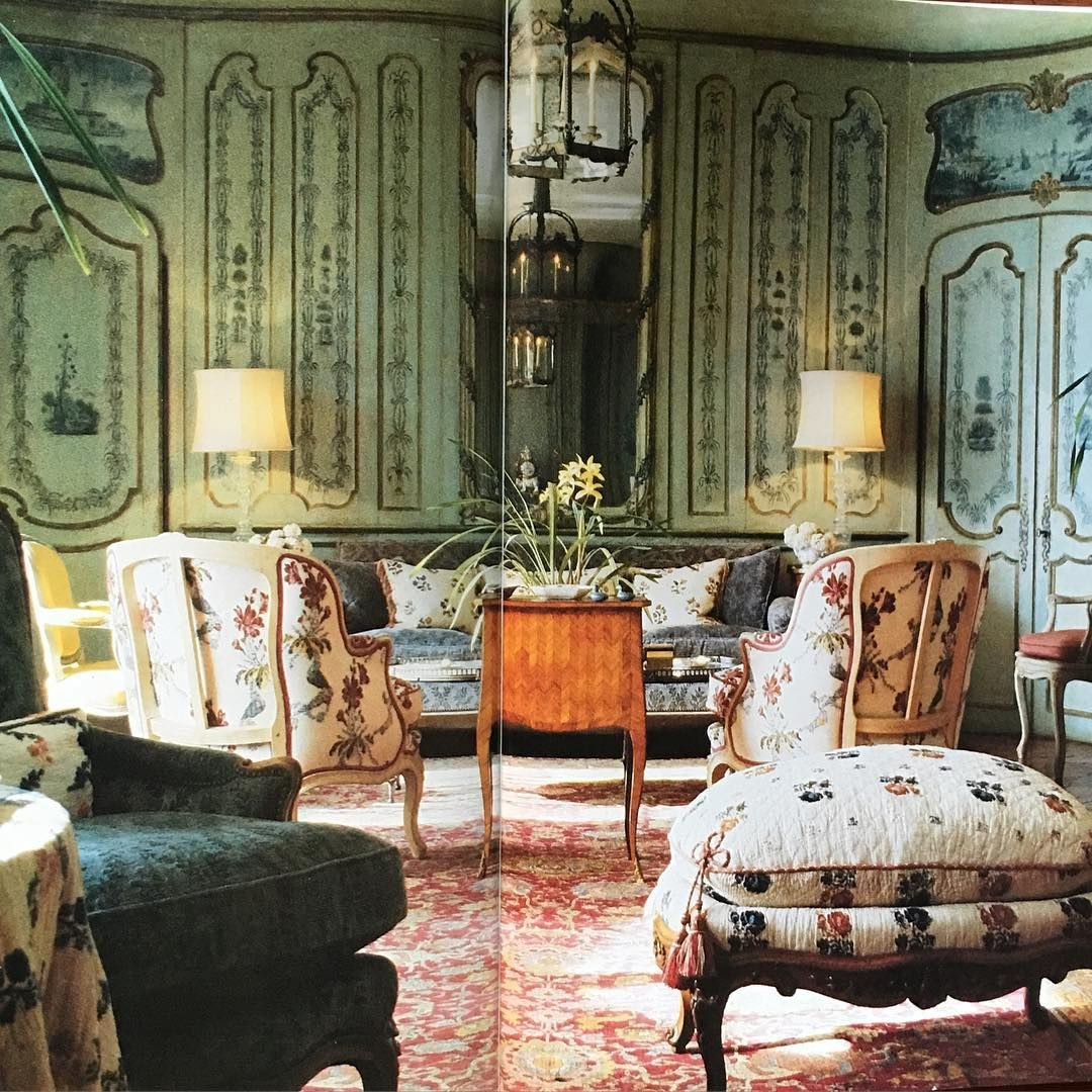 Interior Garden Design Timeless Swedish: A Very Grand Little House. House & Garden 1985. Good