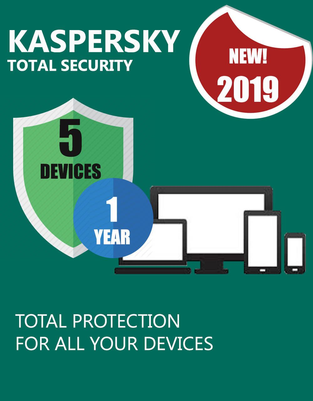 Antivirus and Security 175689: Kaspersky Total Security ...