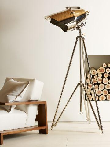 Cutter Tripod Lamp - Ralph Lauren Home Floor Lamps ...