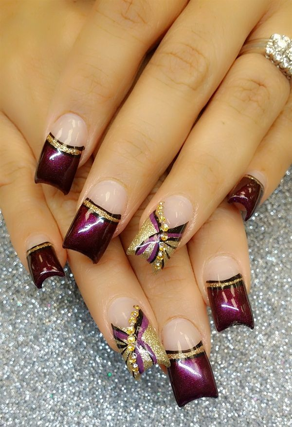 Day 52: Abstract Nail Art | Abstract nail art, Nails magazine and ...