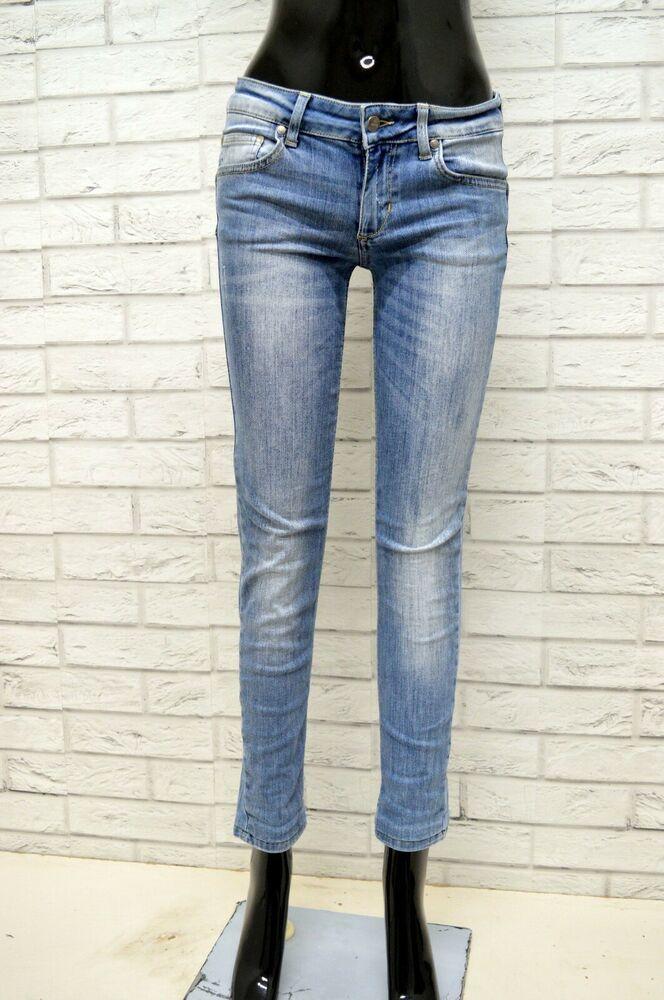 lowest price f3446 026b0 Jeans LIU-JO Donna Taglia Size 28 Pantalone Pants Woman Blu ...