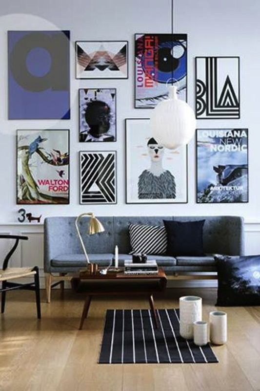 How To: Mix And Match Art Wall {video Gray Malin Giveaway}