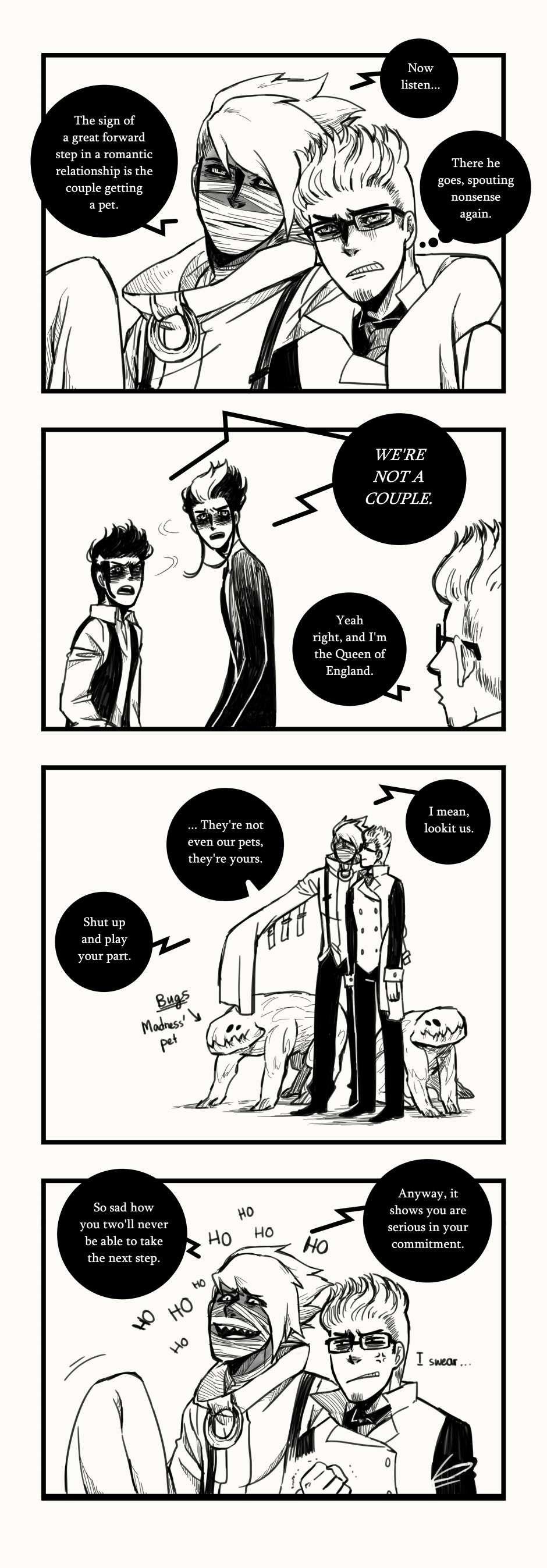 A Matter of Life and Death :: Random Stuff #5   Tapastic Comics - image 1