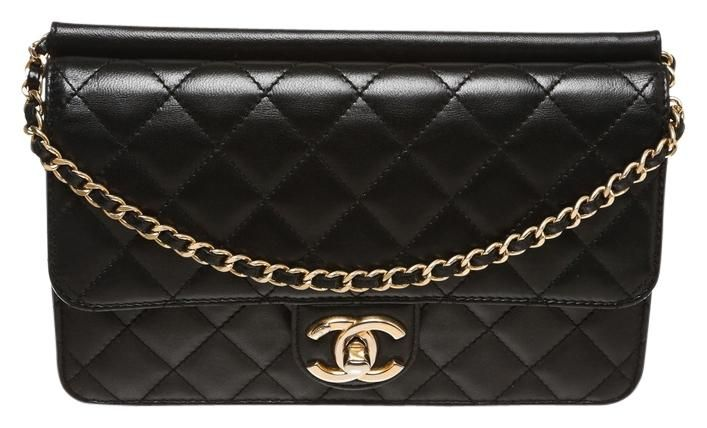 Chanel Black Quilted Lambskin Times Handbag Pink Cross Body Bag. Get the  trendiest Cross Body Bag of the season! The Chanel Black Quilted Lambskin  Times ... 6bdec844c74e1