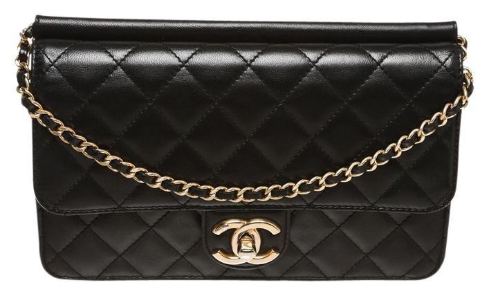 7f3d50d81c4e Chanel Black Quilted Lambskin Times Handbag Pink Cross Body Bag. Get the  trendiest Cross Body Bag of the season! The Chanel Black Quilted Lambskin  Times ...